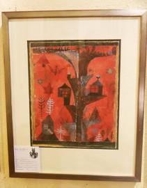 PAUL KLEE - Der Häuserbaum