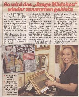 Bild-Zeitung vom 27. Juni 2002
